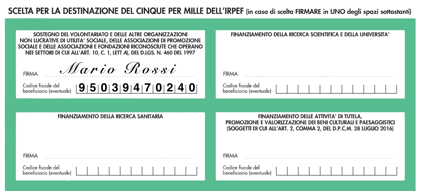 5x1000 ad ASBI Veneto