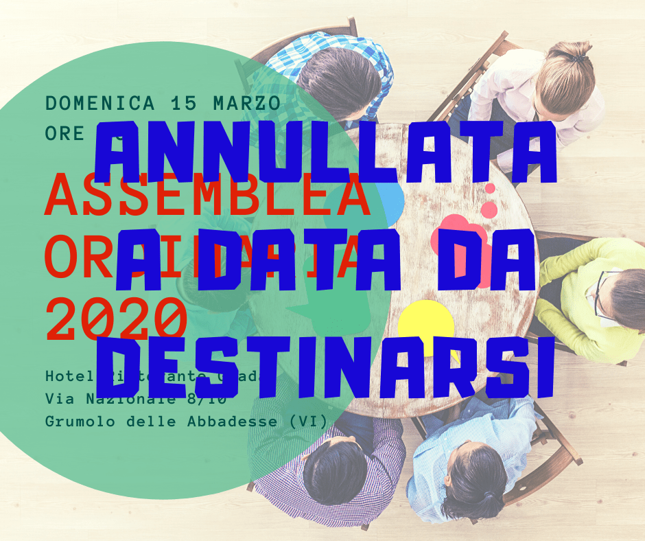 Assemblea Ordinaria 2020